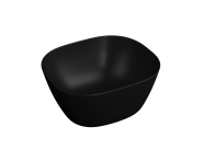 "7811B483-0016 - ""Plural Square high bowl basin 45 cm, without tap hole, without overflow hole"""