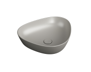 """7812B420-0016 - """"Plural Triangular low bowl basin 45 cm, without tap hole, without overflow hole"""""""