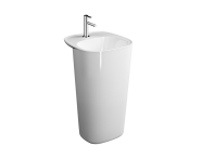 "7814B403-0001 - ""Plural Monoblock Washbasin 50 cm, with tap hole, with overflow hole"""