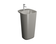 "7814B420-0001 - ""Plural Monoblock Washbasin 50 cm, with tap hole, with overflow hole"""