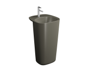 "7814B450-0001 - ""Plural Monoblock Washbasin 50 cm, with tap hole, with overflow hole"""