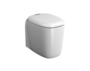 "7815B401-0090 - ""Plural Back to Wall Single WC Pan 55 cm, universal Outlet, with hidden bidet function"""