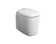 "7815B403-0090 - ""Plural Back to Wall Single WC Pan 55 cm, universal Outlet, with hidden bidet function"""