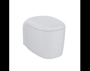 "7830B401-0090 - ""Plural Rim-ex Wall-Hung WC Pan 55 cm, with bidet function, hidden fixation, """