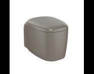 "7830B450-0090 - ""Plural Rim-ex Wall-Hung WC Pan 55 cm, with bidet function, hidden fixation, """