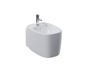 "7831B403-0288 - ""Plural Wall-hung Bidet 55 cm, Without side holes"""
