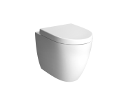 "7985B003-0090 - ""Sento Rim-ex single WC pan, back-to-wall 54 cm, Rim-ex single WC pan, back-to-wall, With bidet function, Horizontal Outlet"""