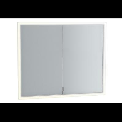 Deluxe Mirror Cabinet Build into wall, 85 cm