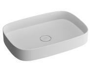 89003 - Memoria Oblong Countertop basin 63 cm