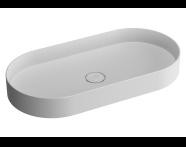 89004 - Memoria Oval Countertop Basin 80 cm