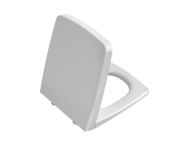 90-003R009 - WC Seat, Duroplast, Soft-Closing, Detachable Metal Hinge, Top Fixing, White, Quick Release