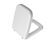 91-003R009 - WC Seat, Duroplast, Soft-Closing, Detachable Metal Hinge, Top Fixing, White, Quick Release