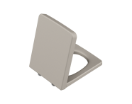 96-020-009 - Frame Toilet Seat, Soft Closing, Top Fixing, Matte Taupe