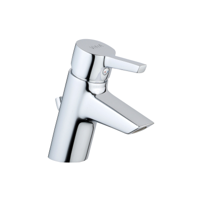 Slope Basin Mixer with Pop-Up Waste