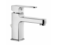 A40776IND - Q-Line Basin Mixer (with Pop-Up)