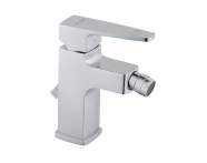 A40777EXP - Q-Line Bidet Mixer (with Pop-Up)