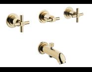 A4083223 - Juno Ankastre Banyo Bataryası  (El Duşu Çıkışlı-Sıva Üstü Grubu)