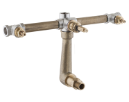 A40836IND - Juno Crystals from Swarovski Elements  Built-in Bath/Shower Mixer (Concealed Part)