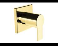 A4144823 - Flo S Ankastre Stop Valf (Sıva Üstü Grubu), Altın