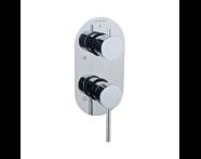 A41652EXP - Built-In Bath/Shower Mixer - w/3 Way Diverter