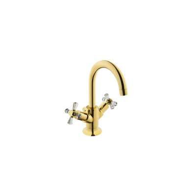 Juno Crystals from Swarovski Elements Basin Mixer (with Pop-Up)
