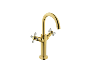 A41662IND - Juno Crystals from Swarovski Elements Basin Mixer (for Bowls)