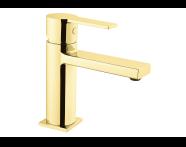 A4193623IND - Flo S Basin Mixer,  Gold