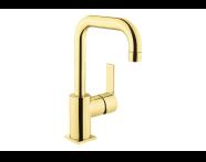 A4193923 - Flo S Lavabo Bataryası  (Döner Borulu), Altın