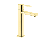 A4194023IND - Flo S Basin Mixer , For Bowls, Gold