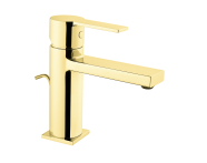 A4194123IND - Flo S Basin Mixer , With Pop-Up, Gold