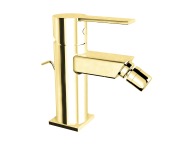 A4194323EXP - Flo S Bidet Mixer , With Pop-Up, Gold