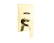 A4221223IND - Flo S Built-In Bath/Shower Mixer , Exposed Part, Gold