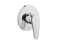 A42225IND - Dynamic S Built-in Bath/Shower Mixer (Exposed Part)