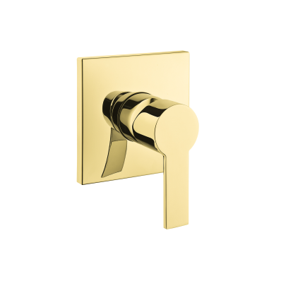 Flo S Built-In Shower Mixer, Exposed Part, Gold