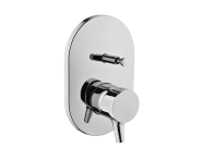 A42227IND - Nest Trendy Built-in Bath/Shower Mixer (Exposed Part)