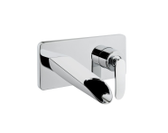 A42237IND - T4 Built-in Basin Mixer (Exposed Part - Cascade Flow)