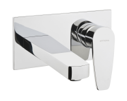 A42250IND - Q-Line Built-in Basin Mixer (Exposed Part)