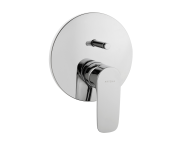 A42251IND - X-Line Built-in Bath/Shower Mixer (Exposed Part)
