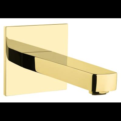 Flo S Bath Spout,  Gold