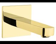 A4225423IND - Flo S Bath Spout,  Gold