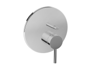 A42265VUK - Pure Built-In Bath/Shower Mixer, (V-Box-Exposed Part), Chrome