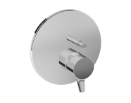 A42266 - Nest Trendy Ankastre Banyo Bataryası (V-Box Sıva Üstü Grubu), Krom