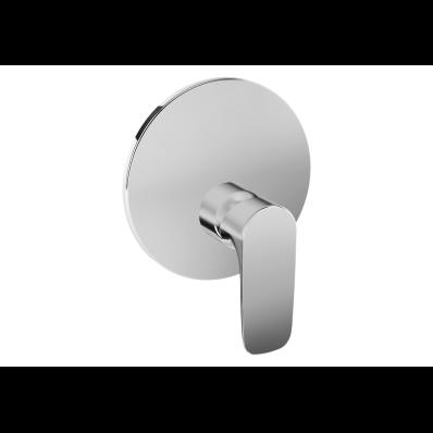 X-Line Built-In Shower Mixer, V-Box-Exposed Part, Chrome