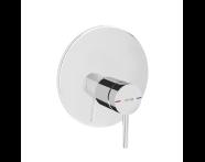 A42268 - Pure Ankastre Duş Bataryası (V-Box Sıva Üstü Grubu), Krom