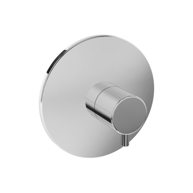 Pure Diverter, (V-Box-Exposed Part), Chrome