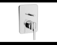 A42286 - Suit Ankastre Banyo Bataryası (Sıva Üstü Grubu), Krom