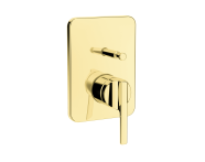 A4228623VUK - Suıt U Built-In Bath/Shower Mixer, (Exposed Part), Gold