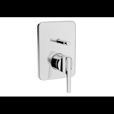 Suıt Built-In Bath/Shower Mixer, (Exposed Part), Chrome