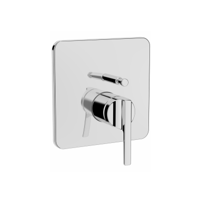 Suıt Built-In Bath/Shower Mixer, (V-Box-Exposed Part), Chrome