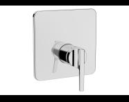 A42289 - Suit Ankastre Duş Bataryası (V-Box Sıva Üstü Grubu), Krom